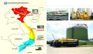 Tổng kho cung ứng nhựa đường miền Nam - Trạm Mỹ Tho