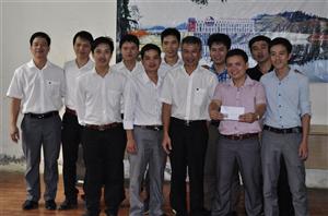 Sinh hoạt văn hóa tại thủy điện Chiêm Hóa