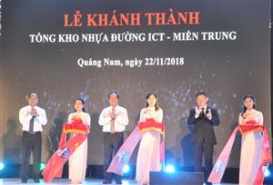 Khánh thành Tổng kho nhựa đường ICT - miền Trung gần 150 tỷ đồng - Báo Giao thông