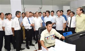 Đoàn công tác của Tỉnh ủy Phú Thọ thăm và làm việc tại Tuyên Quang