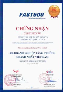 HOT NEWS - ICT và bảng xếp hạng FAST500 - 2016