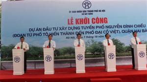 Hà Nội: Đầu tư gần 200 tỷ đồng xây dựng đường Nguyễn Đình Chiểu