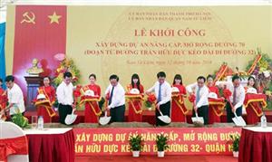 Hà Nội: Đầu tư hơn 264 tỷ đồng nâng cấp đường 70
