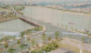 Khởi công đường D1 giảm ùn tắc cho đường Nguyễn Hữu Thọ