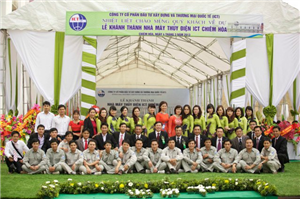 Lễ khánh thành thủy điện Chiêm Hóa - 04 - 03 - 2013