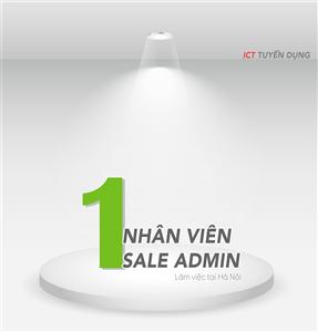 Nhân viên Sale Admin (Hành chính hỗ trợ kinh doanh)